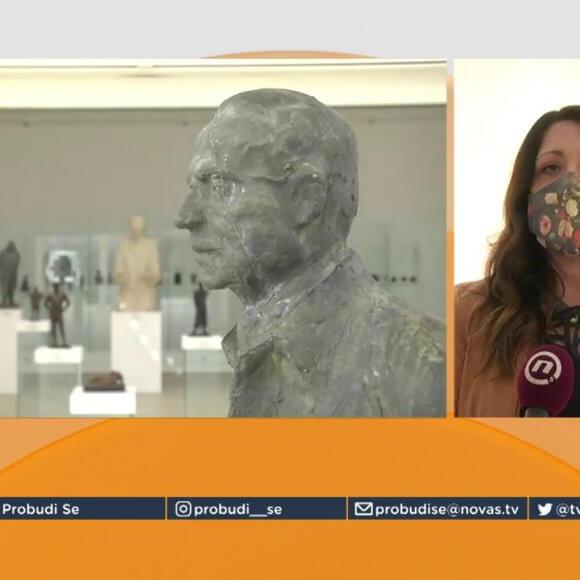 ТВ Нова С у посети галерији Легата Николе Јанковића у Крагујевцу